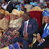Former first lady, Patience Jonathan, spotted at an event in Port Harcourt [photos]