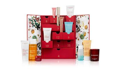 clarins beauty advent calendar 2017