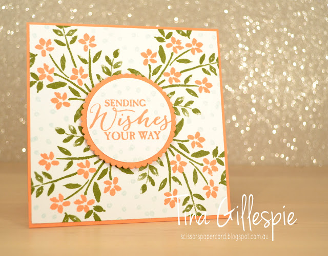 scissorspapercard, Stampin' Up!, Number Of Years, Butterfly Basics, Layering Circles Framelits, Stamparatus