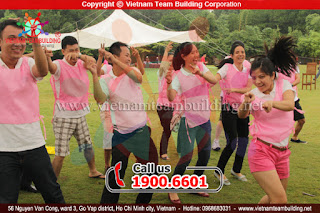 MARK - Trò chơi team building hay nhất tại Hà Nội