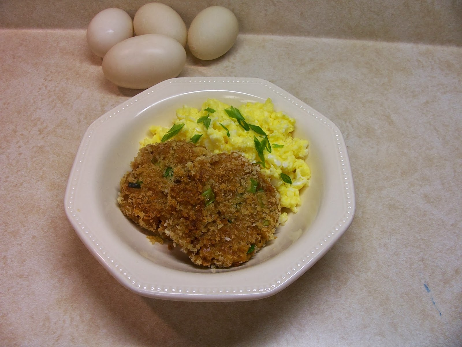 Cowgirl S Country Life Blue Swedish Duck Eggs And Potted Pork