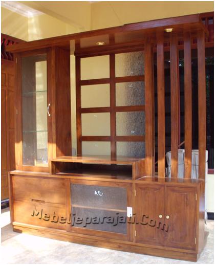 Furniture Minimalis Almari Partisi Pengrajin Mebel