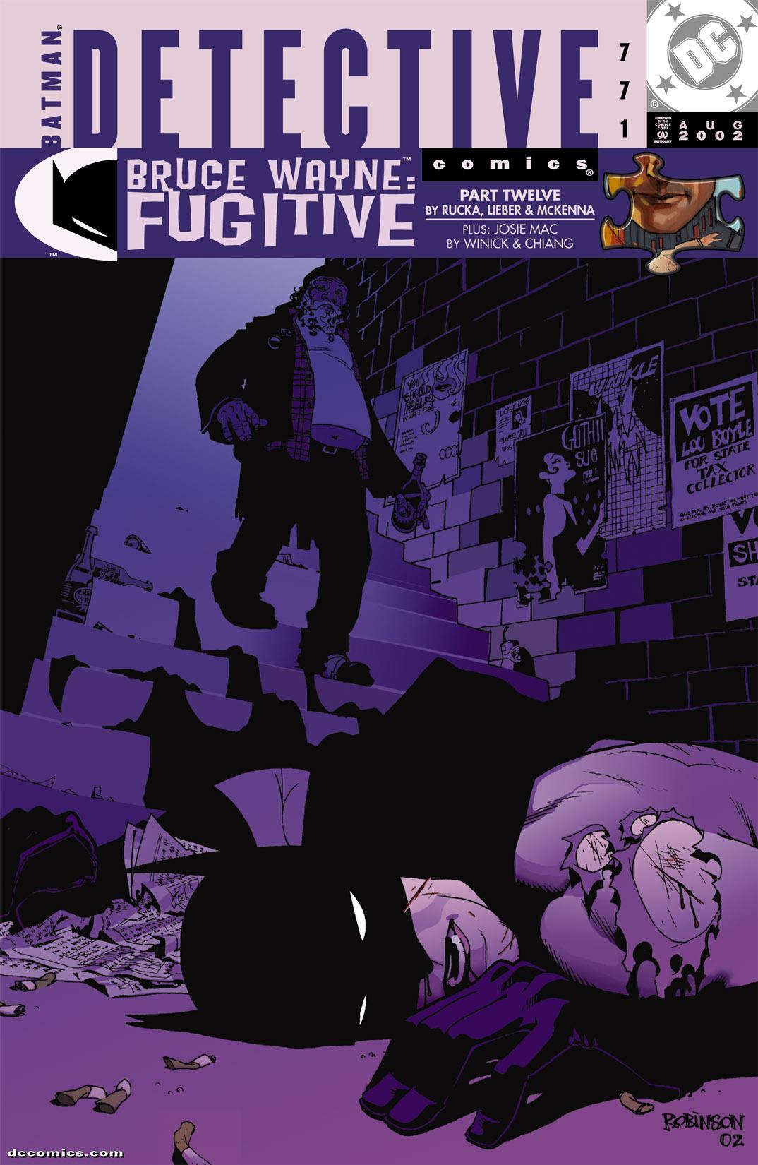 Detective Comics (1937) 771 Page 0