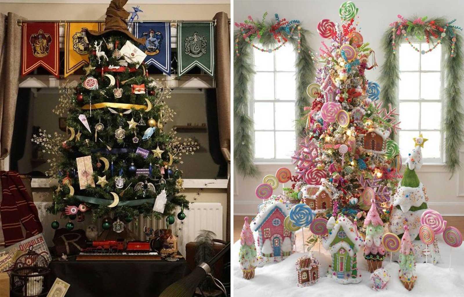 tendances déco fêtes fin d'année noël harry potter jouets