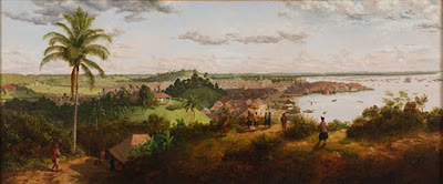 Source: ACM website. View of Singapore from Mount Wallich, Singapore, 1856, by Percy Carpenter, is one of the exhibits at Port Cities: Multicultural Emporiums of Asia, 1500 –1900.