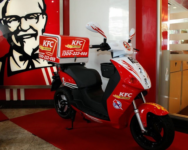 Kfc Delivery First In Malaysia To Use Eco Friendly