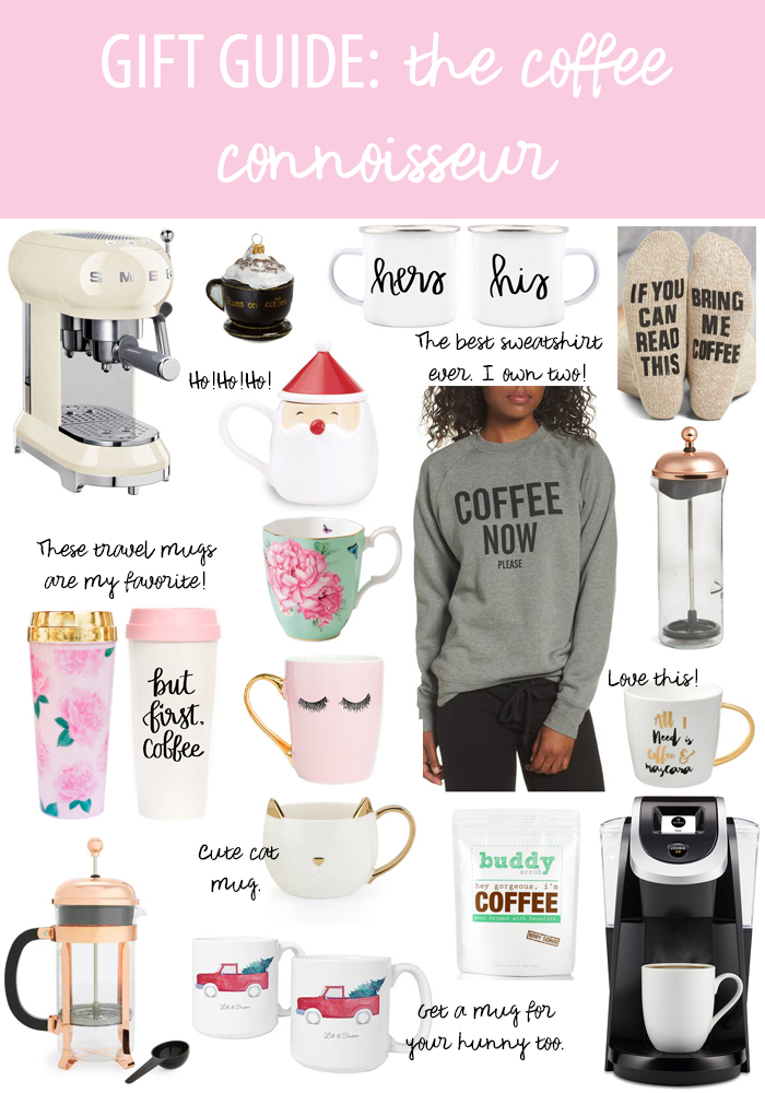 gift guide coffee connoisseur