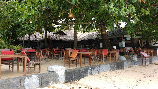Cafe on the beach