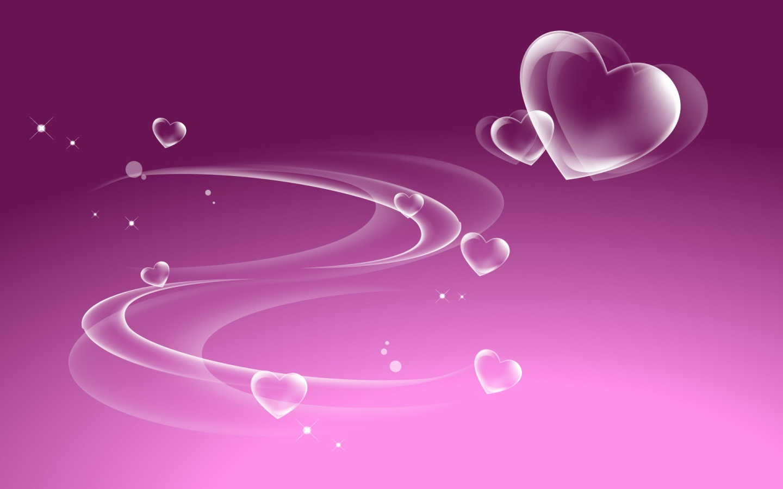 Purple Valentine Heart