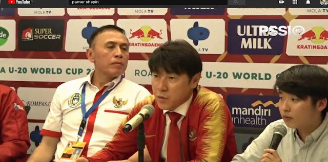 penunjukan Shin Tae-yong sebagai manajer pelatih tim nasional