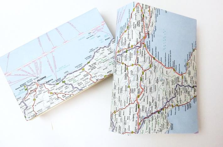 2-Buecher-mit-schutzumschlag-aus-Landkarten