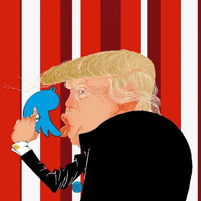 Donald Trump por Luciano Salles