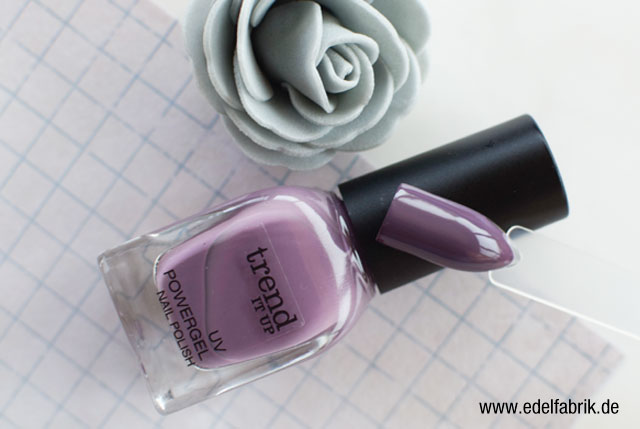 die Edelfabrik, trend IT UP Nagellack, UV Powergel, Swatch