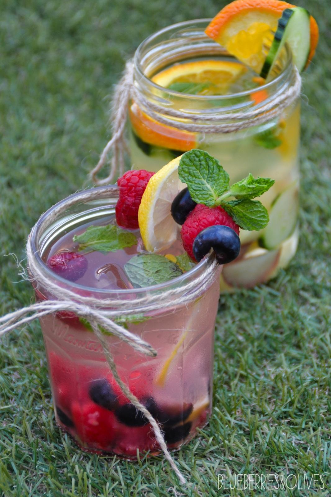 Aguas infusionadas con frutas 3