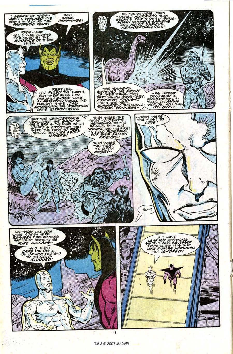 Read online Silver Surfer (1987) comic -  Issue #28 - 20