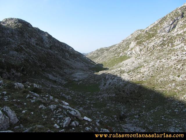 Ruta Ercina, Verdilluenga, Punta Gregoriana, Cabrones: Resecu Bajo