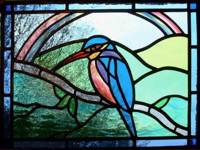 Stained GLASS WINDOW Designs Free