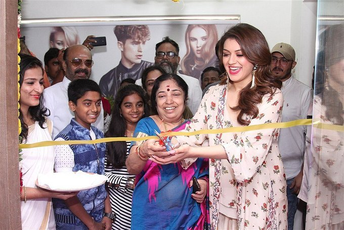 Hansika Motwani at Toni and Guy Essensuals Salon Launch Gallery