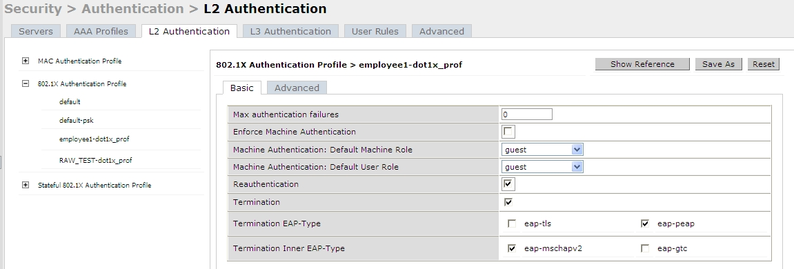 JC's Blog: Aruba Controller Authentication Part 2 WPA/WPA2 and 802 1X