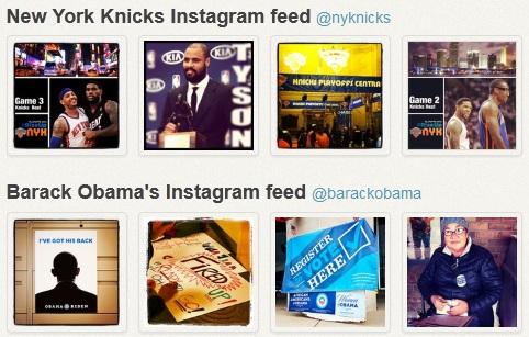 Technology World: SnapWidget: Embed Instagram Galleries Into