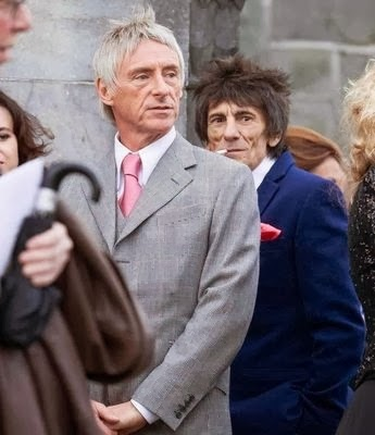 Ronnie Wood And Paul Weller Attend Sterophonics Kelly Jones Wedding