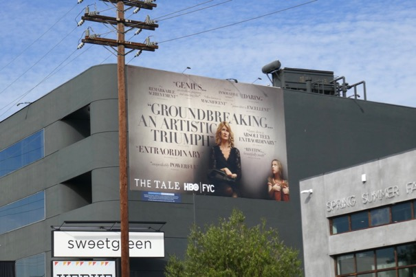 The Tale HBO FYC billboard