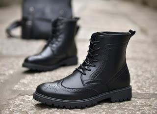 Sepatu Pantofel Pria Model Terbaru MO0039 Januari 2018