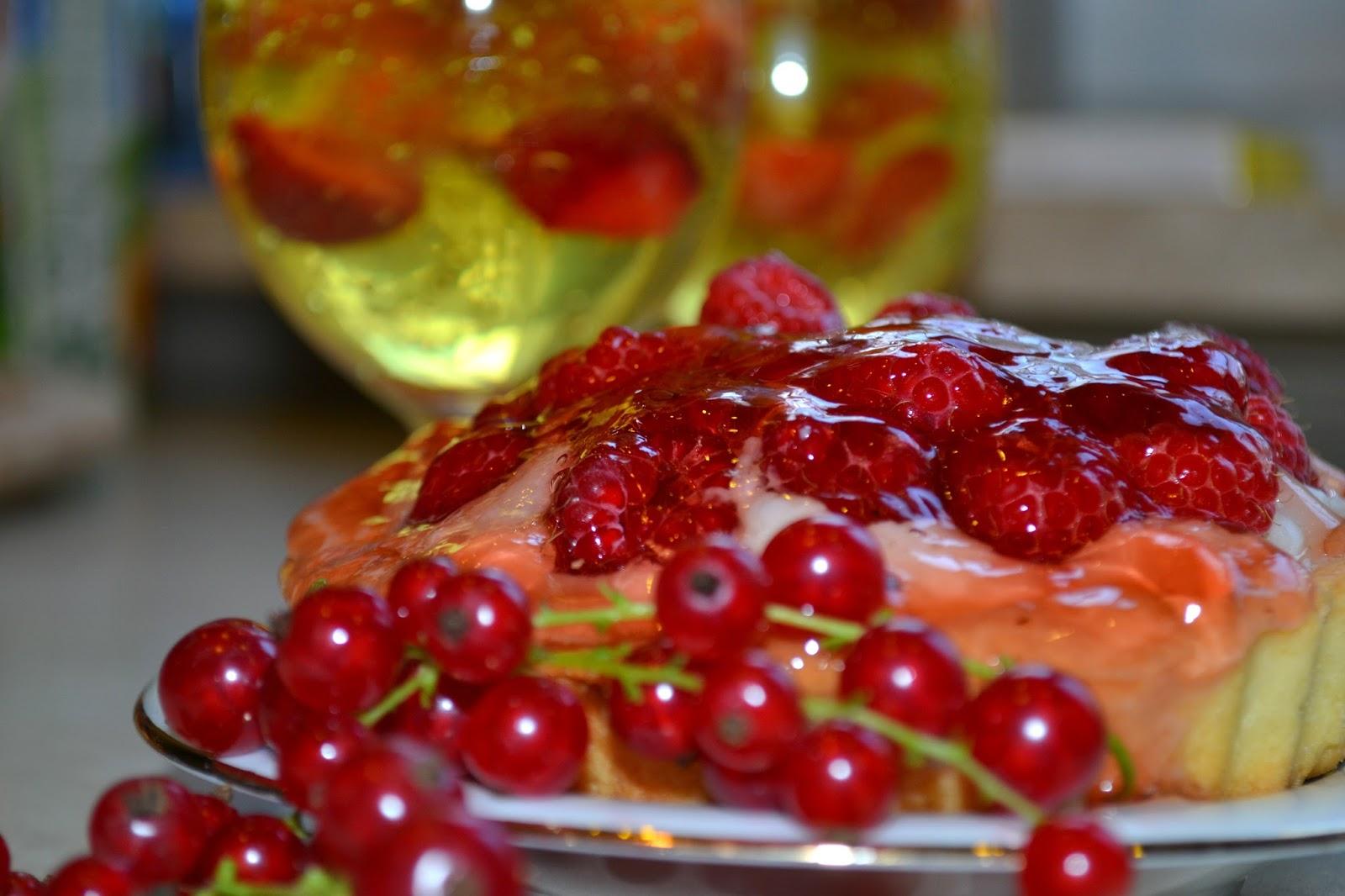 Koniec sezonu na truskawki i tartaletki z... malinami