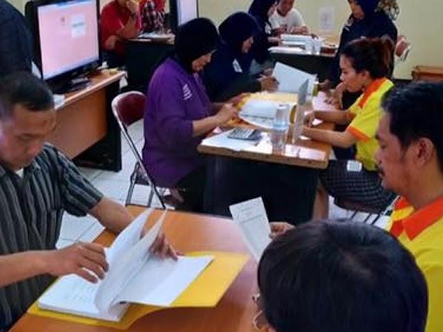Partai Berkarya dan Hanura Serahkan Dokumen Keanggotaan Parpol ke KPU Kota Bandung