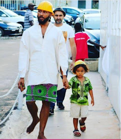 d - Ghanaian celebrities team up with their kids/dads in stylish photos to celebrate Father's day (Photos)