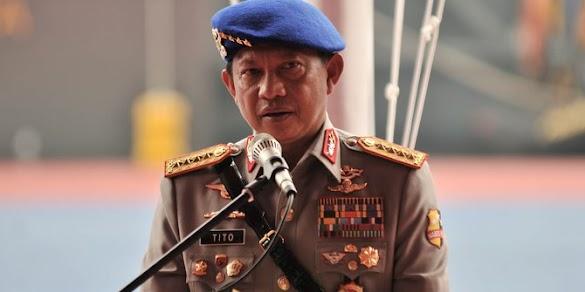 Kapolri Tito Bantah Perintah Tembak Mati Habib Rizieq