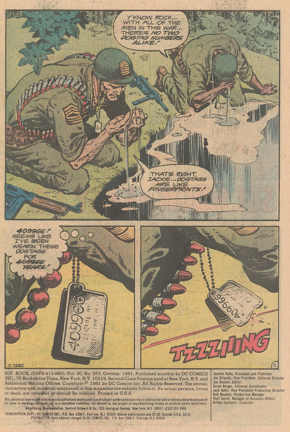 Read online Sgt. Rock comic -  Issue #357 - 2