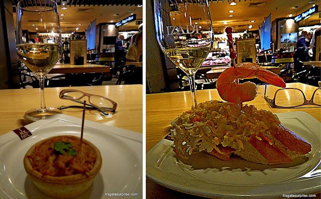Pratos bascos no Imanol do Gourmet Experience, Madri