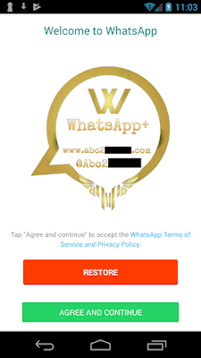 Do not install WhatsApp plus because it contains malware