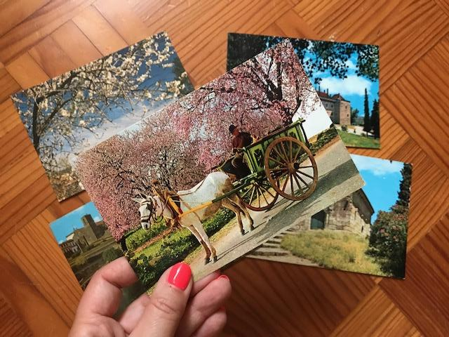 postais turísticos