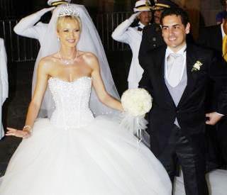 Foto de Juan Diego Florez recien casado