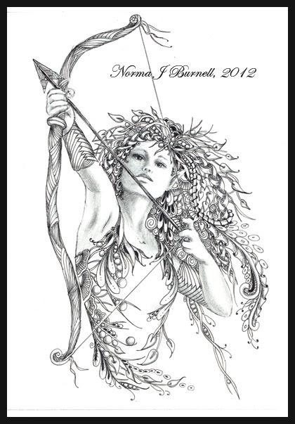 Fairy Tangles The Archeress
