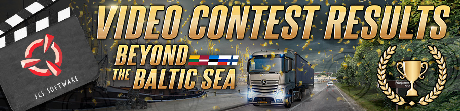 ETS2 Baltic DLC video contest results