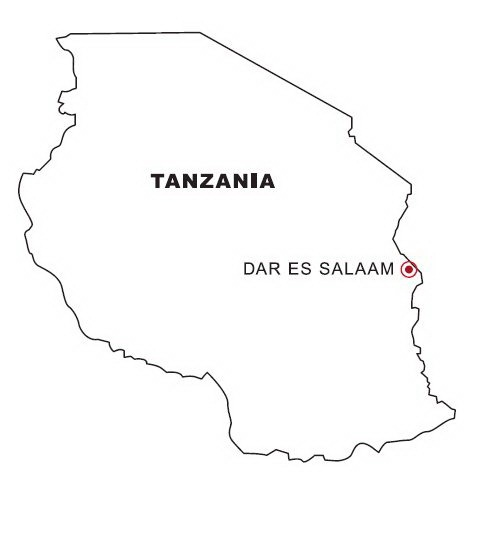 tanzania coloring pages - photo #22