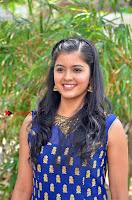Tamil Actress Amritha Pos in Blue Long Dress at Padaiveeran Tamil Movie Audio Launch  0001.jpg