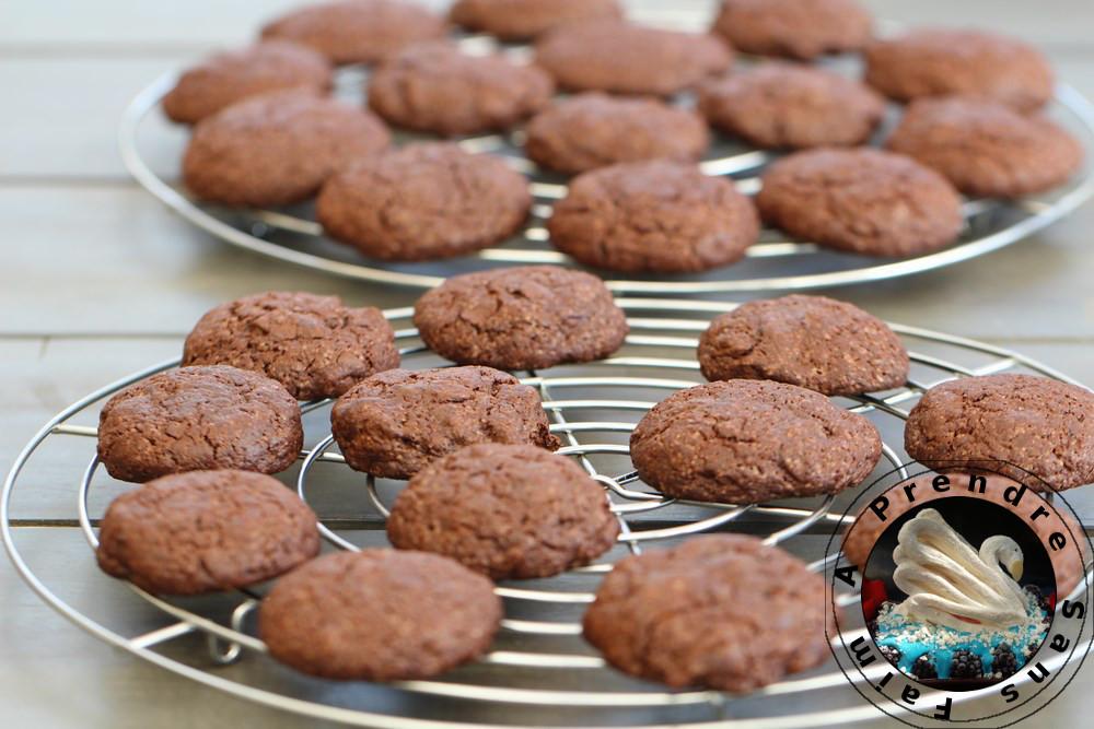 Cookies menthe-chocolat