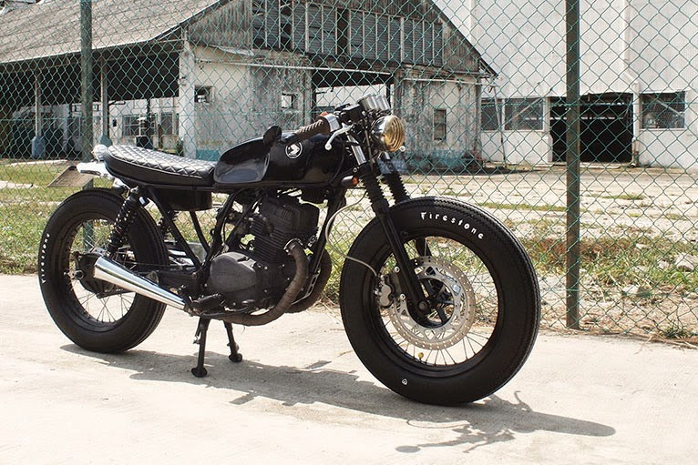 Vicious Honda Cm125 Cafe Racer Return Of The Cafe Racers