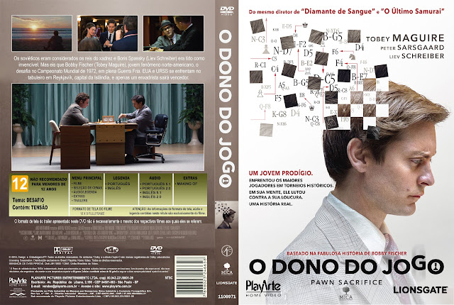Capa DVD O Dono Do Jogo