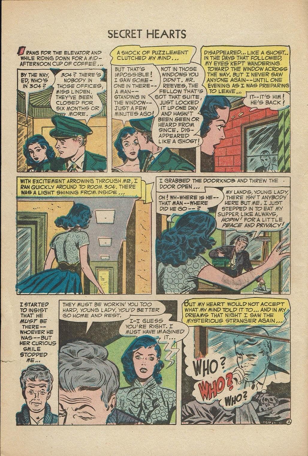 Read online Secret Hearts comic -  Issue #14 - 4