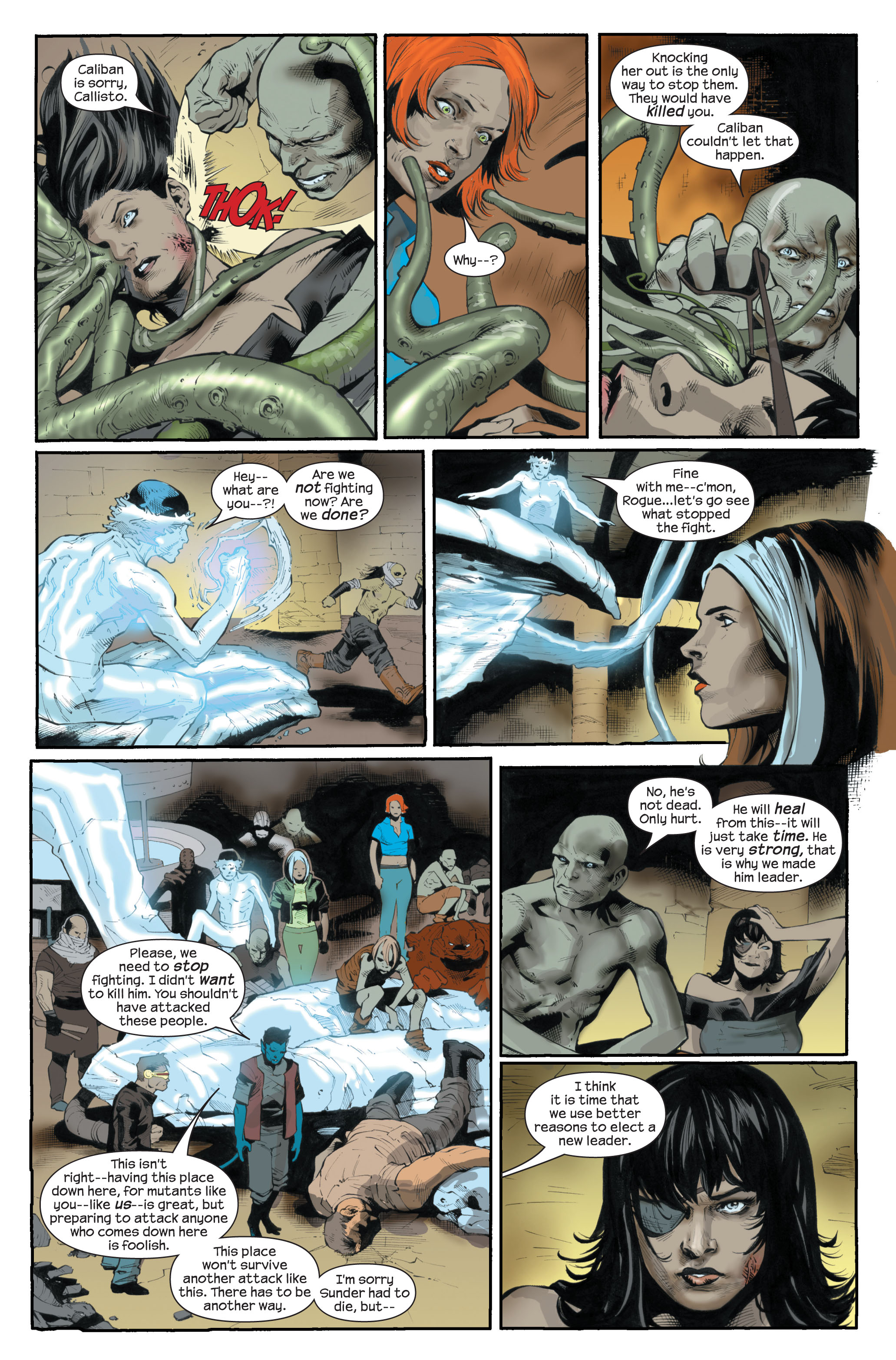 Read online Ultimate X-Men comic -  Issue #83 - 15