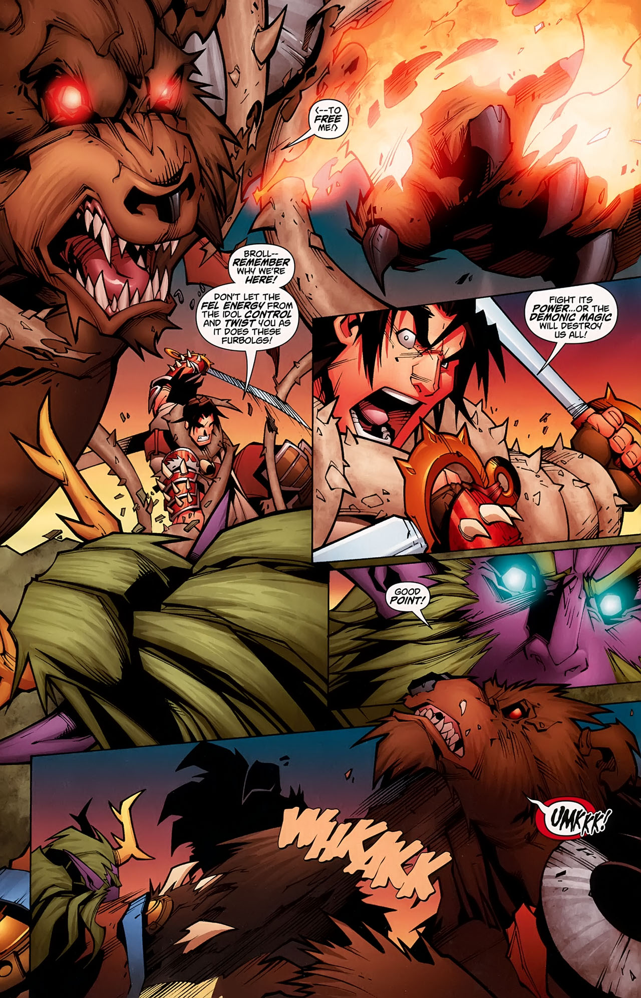 Read online World of Warcraft comic -  Issue #5 - 7