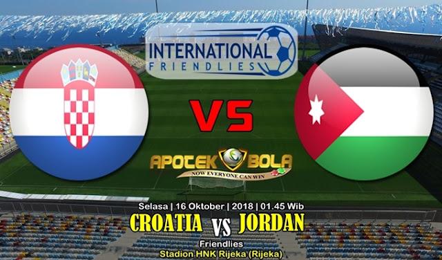 Prediksi Kroasia Vs Jordan 16 Oktober 2018