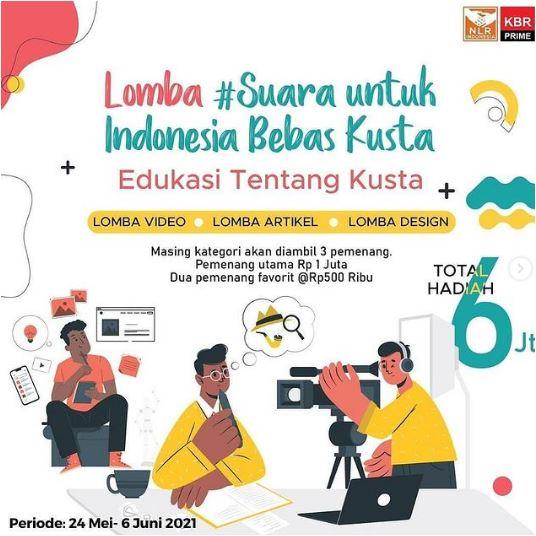 Lomba #Suara Untuk Indonesia Bebas Kusta