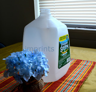 Can water jug - one gallon