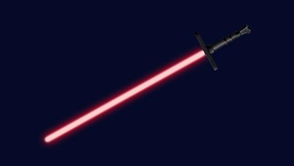 Pedang Star Wars Di Photoshop